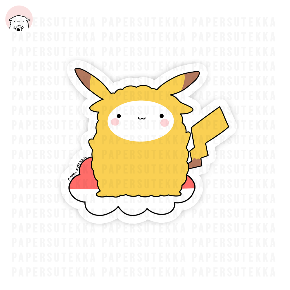 Load image into Gallery viewer, Mikachu Vinyl Sticker