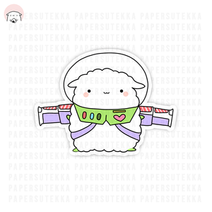 Load image into Gallery viewer, Mika Lightyear Vinyl Sticker