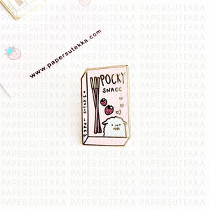 Load image into Gallery viewer, Mika Pocky Enamel Pin
