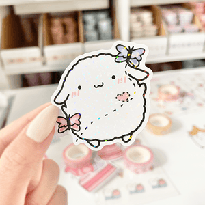 Load image into Gallery viewer, Mochi Butterflies Vinyl Sticker - paper sutekka
