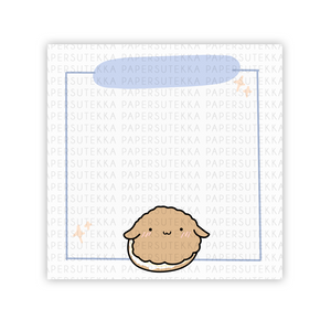 Load image into Gallery viewer, Mochi Cream Puff Memo Pad - paper sutekka