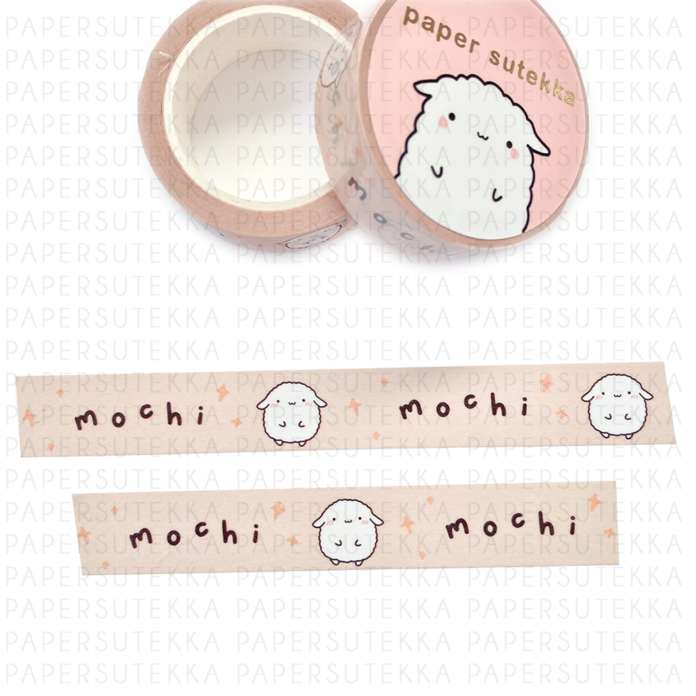 Load image into Gallery viewer, Mochi Washi Tape- Paper Sutekka