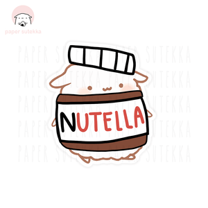 Load image into Gallery viewer, Mika Nutella Vinyl Sticker