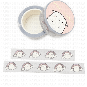 Load image into Gallery viewer, Mochi Rainbow Dream Washi Tape - paper sutekka