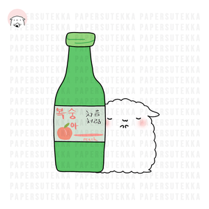 Load image into Gallery viewer, Soju Mika Vinyl Sticker