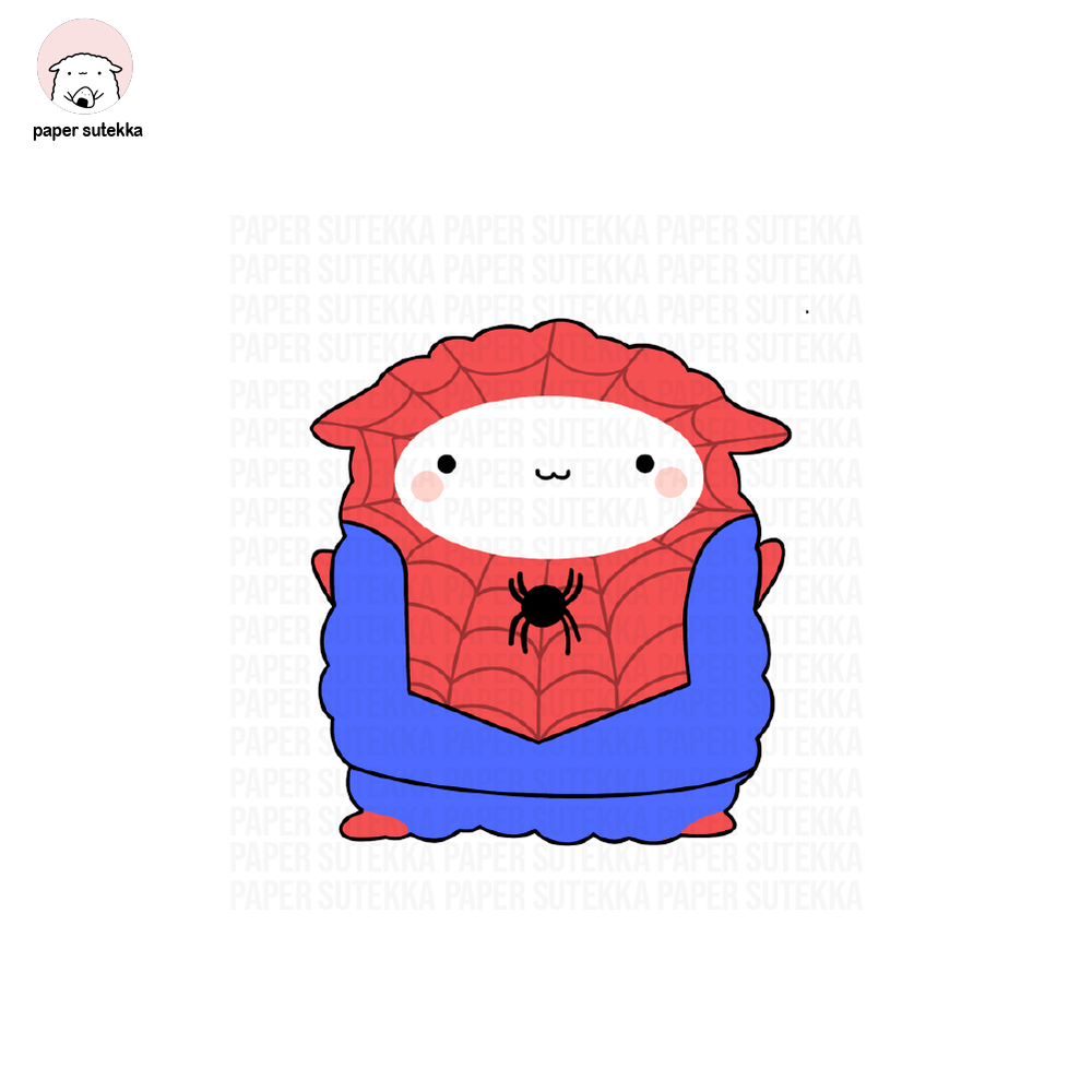 Load image into Gallery viewer, Spidey-Mika Vinyl Sticker