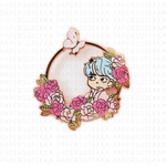 V Boy With Luv Enamel Pin