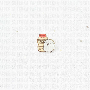 Load image into Gallery viewer, Mika Yakult Yogurt Enamel Pin