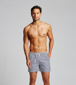Nantucket Micro-Print Swim Trunk