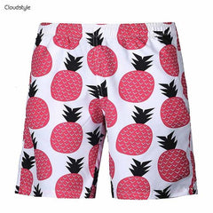 Red Pineapple Shorts