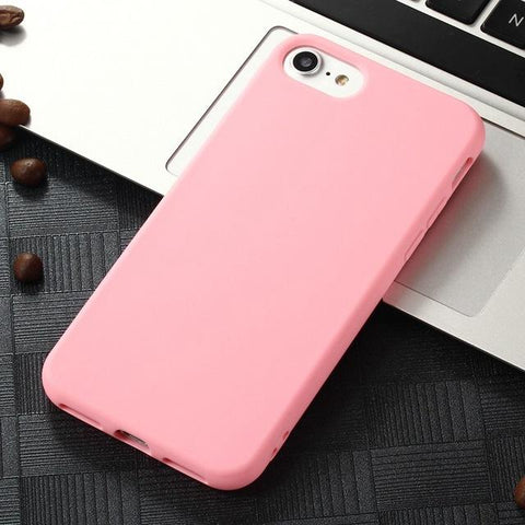 Soft Frosted Matte iPhone Cases