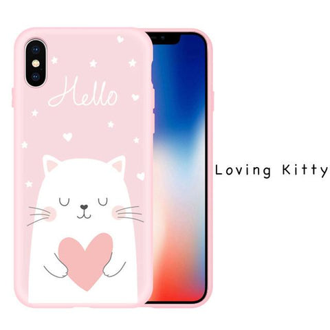 Space Cartoon iPhone X Case