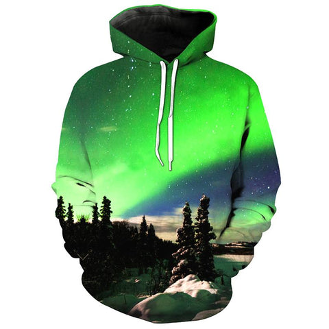 FOREST LIGHTS 3D HOODIE