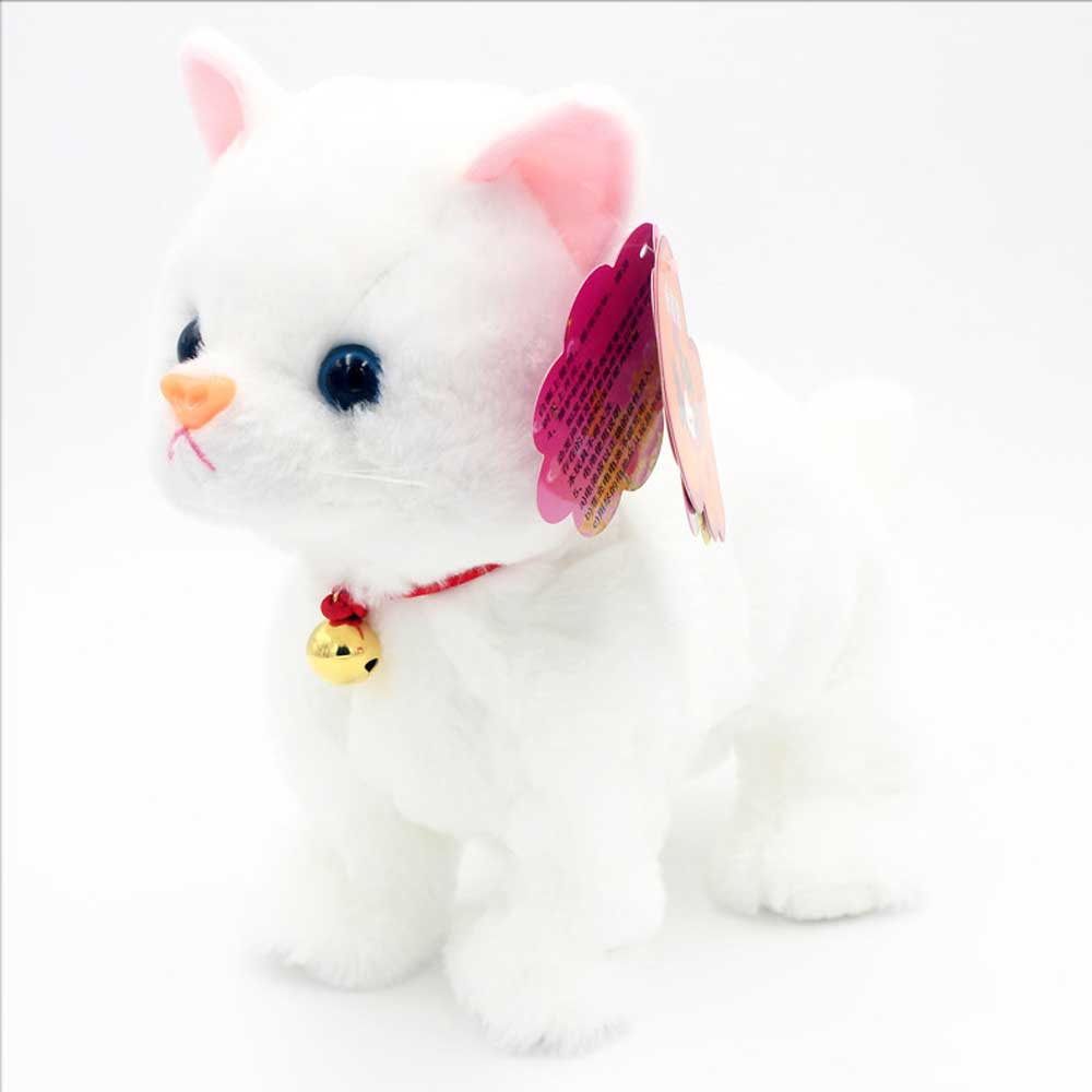 Robot Cat Toy >> Robot Cats Sound Control Toys Electronic Toy Stand Walk Mew