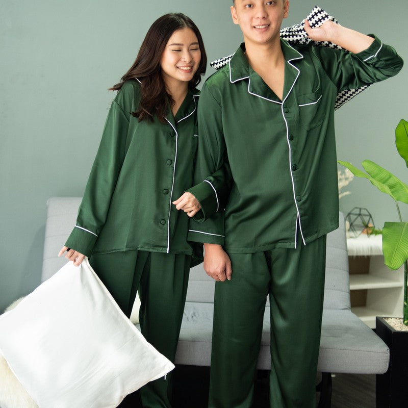 Piyama Couple - Verte Green