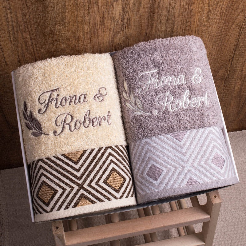 Couple Towel - Diamond