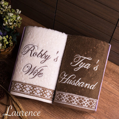 Couple Towel - Laurence