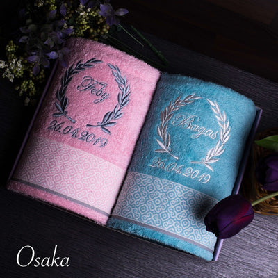 Couple Towel - Osaka