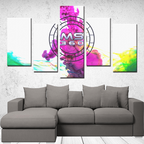 5 Panels Canvas Prints Wall Art for Wall Decorations - MS360