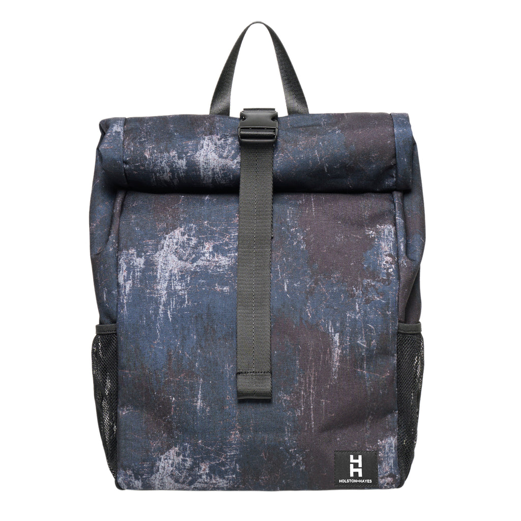 Roll Top Backpack / Distressed