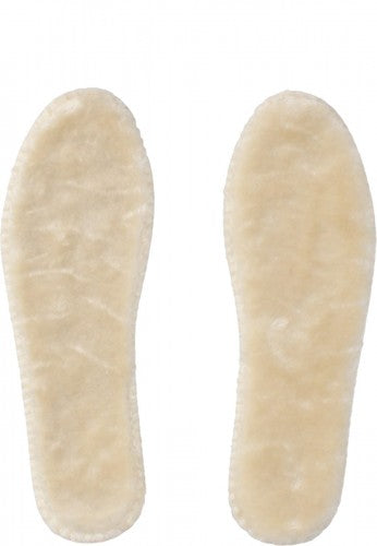 Faux Fur Insoles - Natural