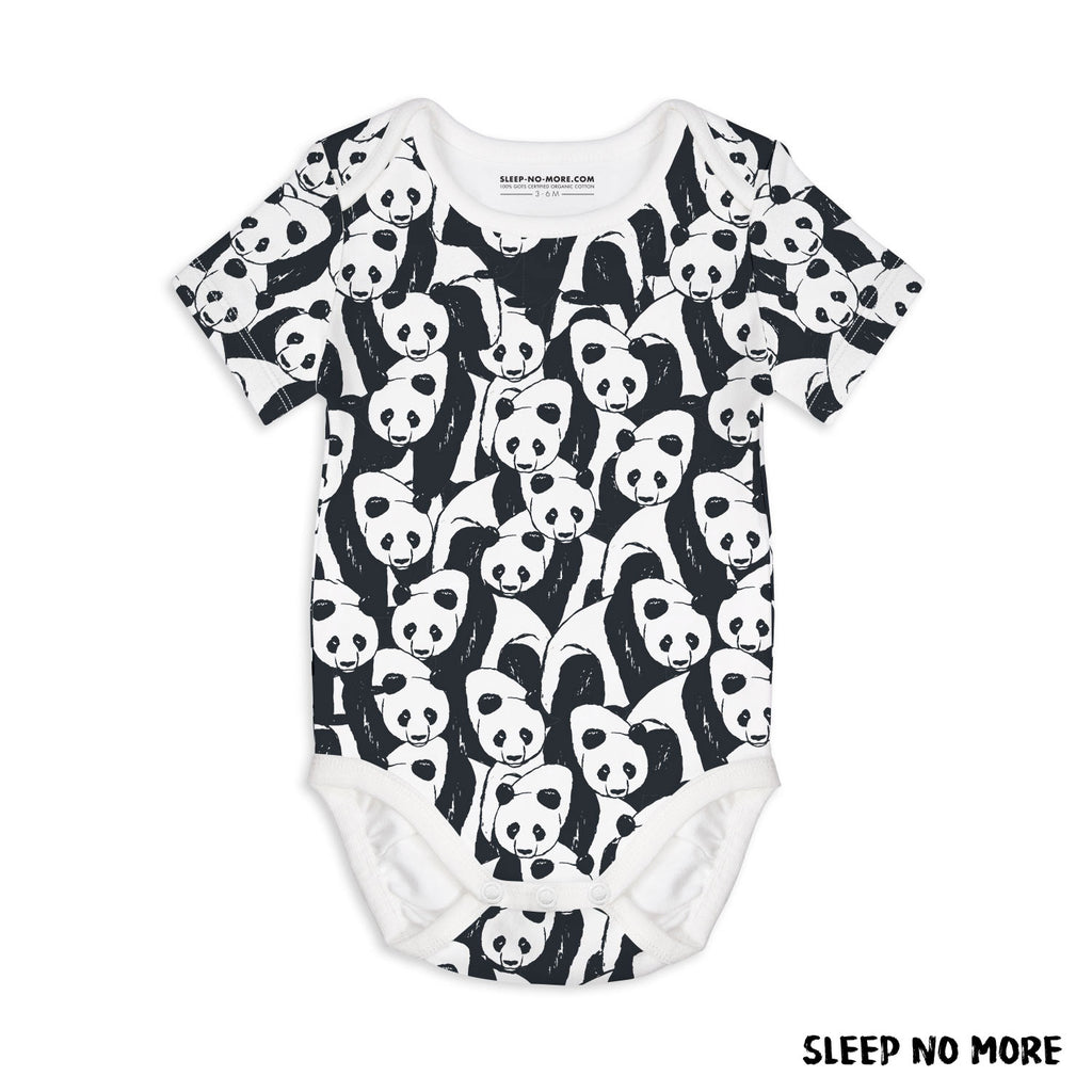 Short Sleeve Baby Bodysuit YOU CAN'T SIT WITH US