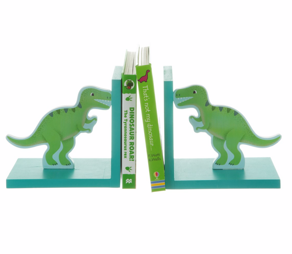 Roarsome T-Rex Book Ends
