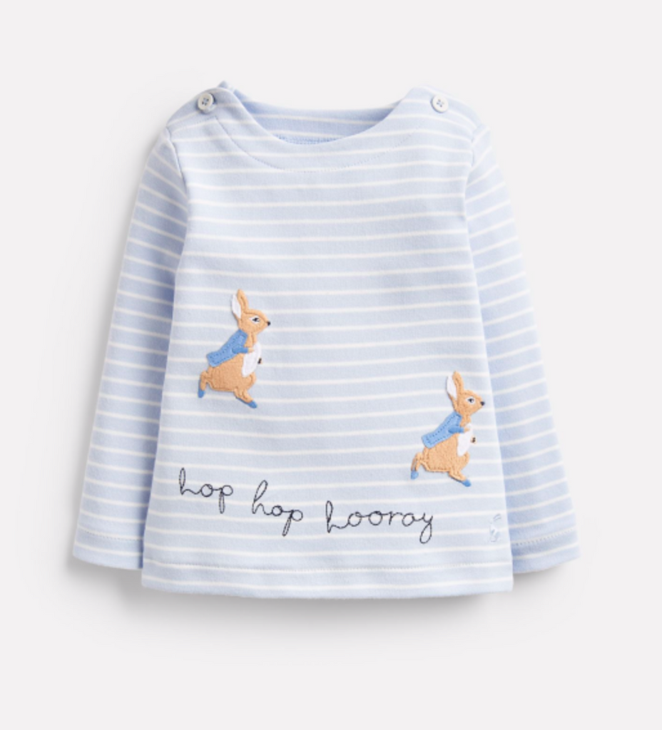 Hoppy Peter Rabbit Jersey Top