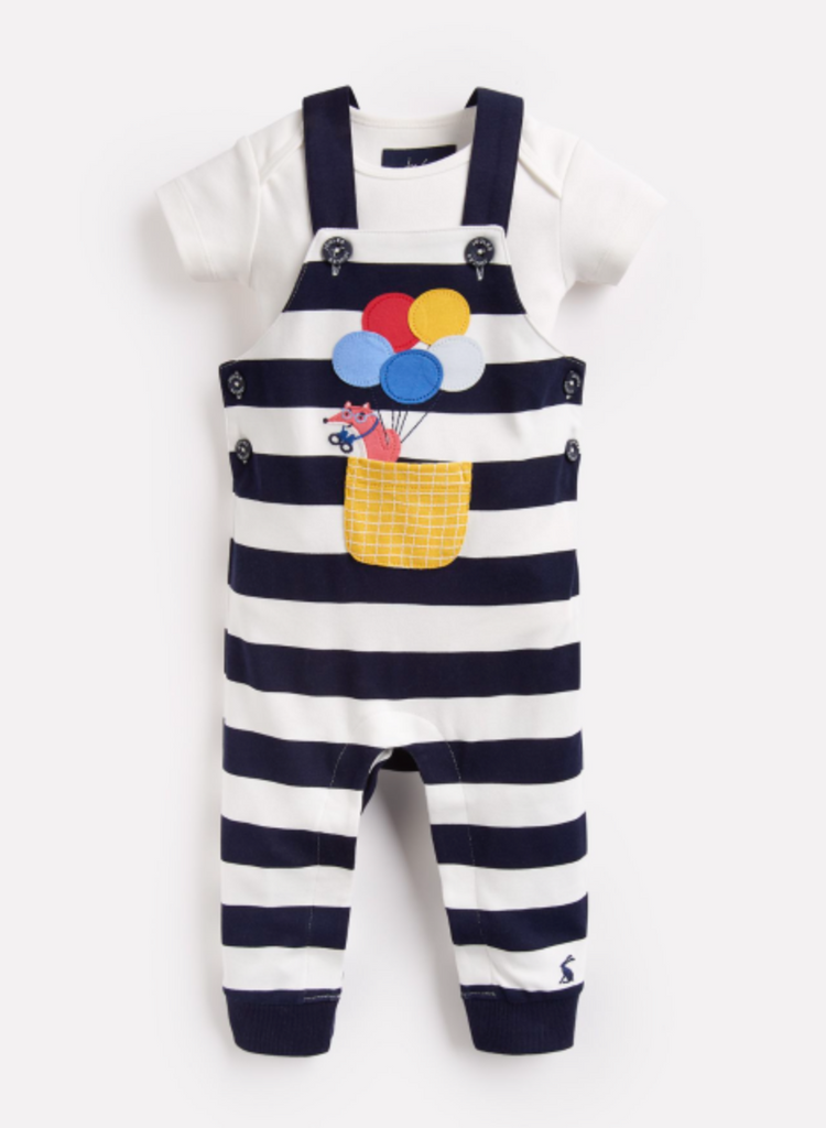 Wilbur Dungaree Set