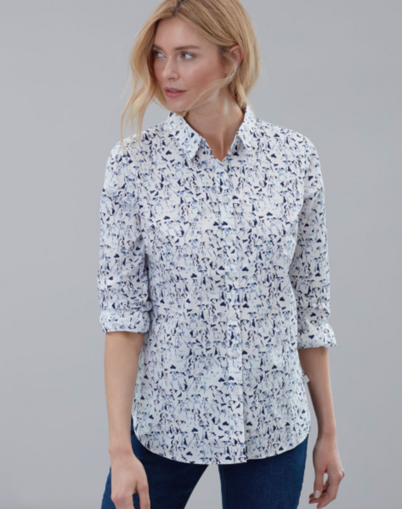 Lucie Printed Woven Shirt