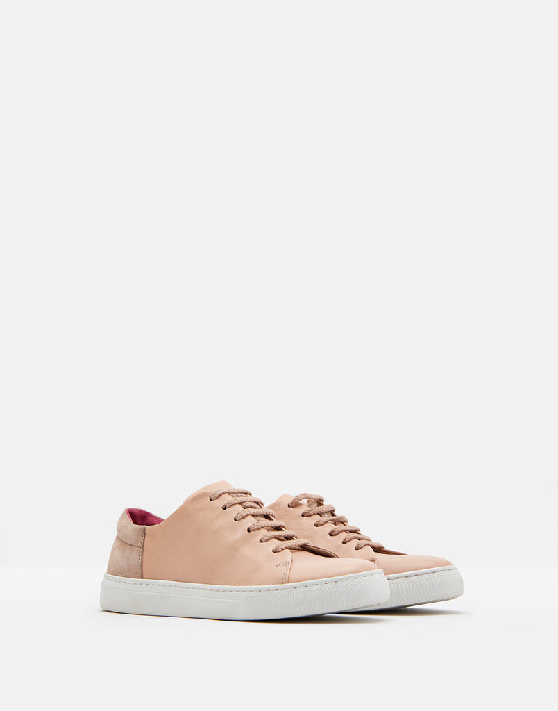Solena Leather Trainer