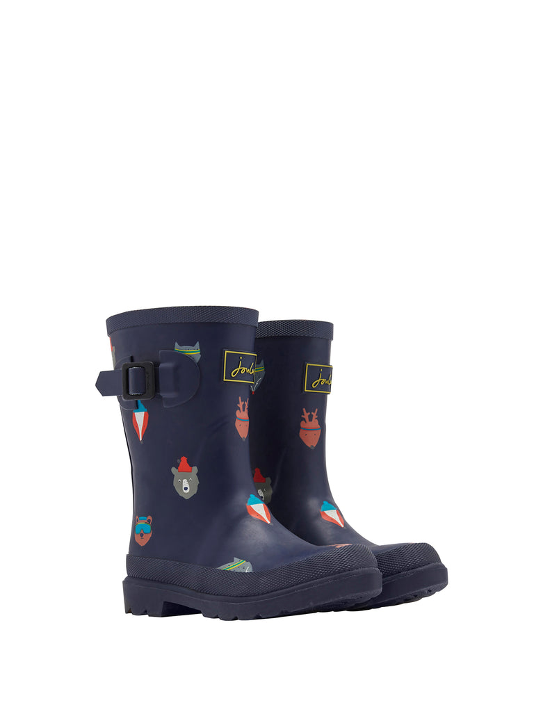Boys Printed Wellies
