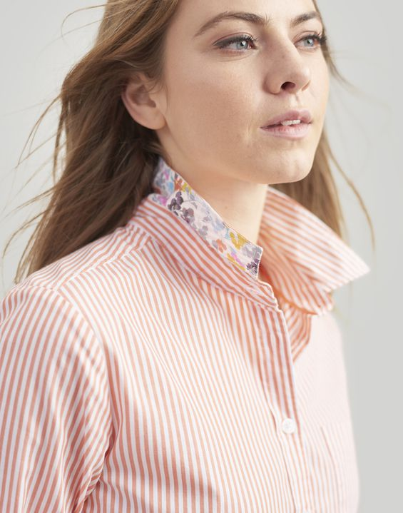 Lucie Printed Stripe Woven Shirt