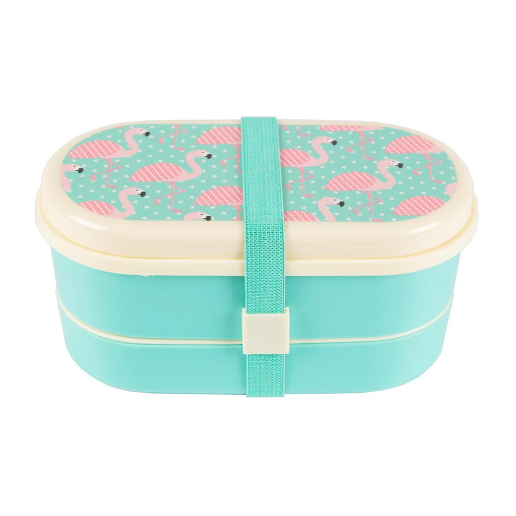 Tropical Flamingo Bento Lunch Box