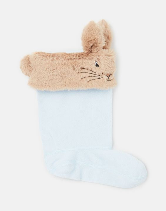 Topsy Blue Peter Rabbit Welly Socks