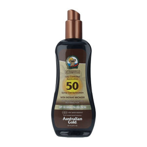 Spray Sun Protector Sunscreen Australian Gold SPF 50 (237 ml)