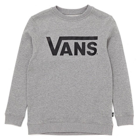 Children's Sweatshirt without Hood Vans VOOJ6LADY Grey