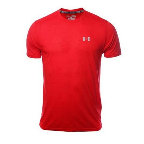 Men's Short Sleeve T-Shirt Under Armour 1271823-620 Red