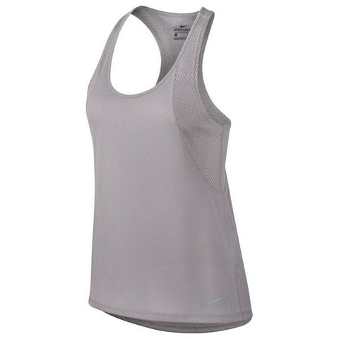 Tank Top Women Nike W NK RUN TANK Grey (Size l - us)
