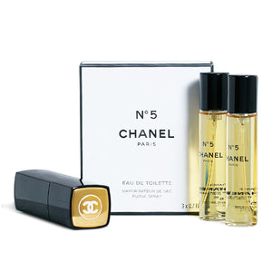 Women's Perfume Set Nº 5 Chanel (3 pcs)