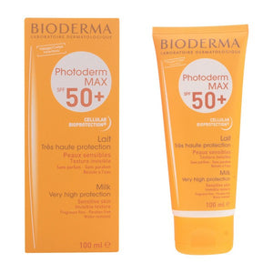 Sun Block Photoderm Max Lait Bioderma Spf 50 (100 ml)