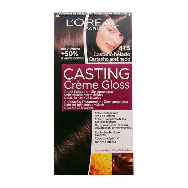 Dye No Ammonia Casting Creme Gloss L'Oreal Make Up Frozen chestnut