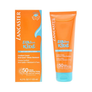Sun Cream Sun Kids Wet Skin Lancaster SPF 50 (125 ml)