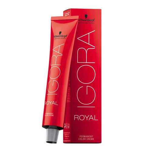 Permanent Dye Igora Royal Schwarzkopf N 8-65 (60 ml)