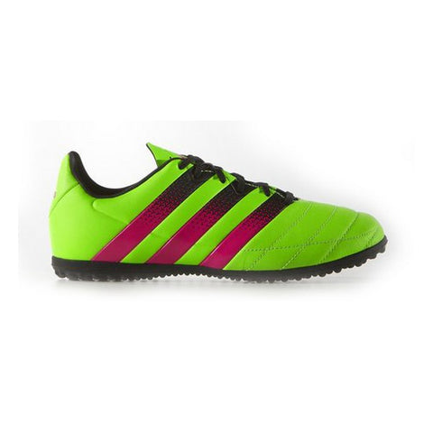 Children's Multi-stud Football Boots Adidas ACE 16.3 TF J Yellow Pink