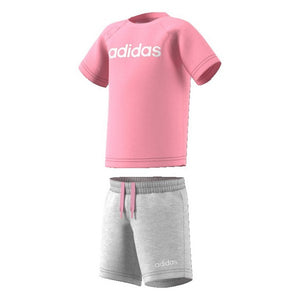 Sports Outfit for Baby Adidas I Oin Sum Set Pink Grey (9-12 months)