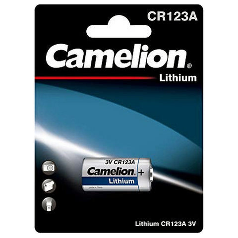 Rechargeable Battery Camelion CR123A-BP1 3V