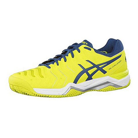 Adult's Padel Trainers Asics Gel Challenger 11 Clay Yellow