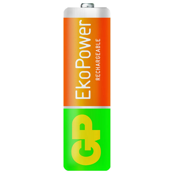 Rechargeable Batteries GP 125AAHCEPC4 1, 2 V 1300 mAh AA (4 pcs) Green Orange