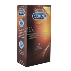 Real Feeling Condoms 10 pcs Durex 3848